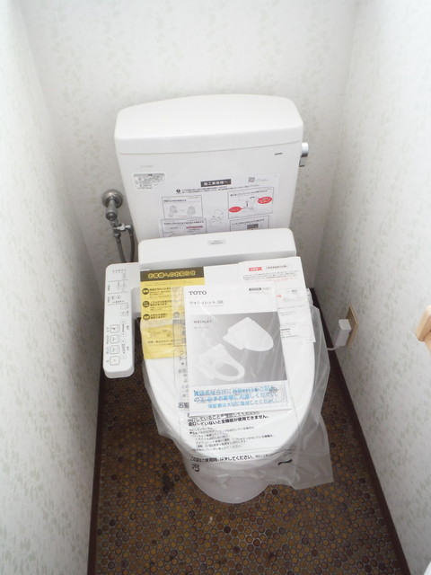 トイレ新品です