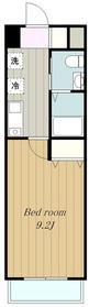 SHELL MIYAKOⅠ5階Fの間取り画像