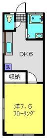 高田駅 徒歩27分2階Fの間取り画像
