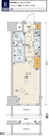 スカイコート板橋大山15階Fの間取り画像