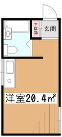 フォーライフ小平2階Fの間取り画像