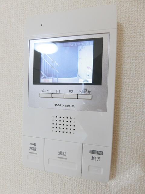 TVモニタ付ドアホン