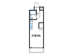コスモヒロ南台1階Fの間取り画像
