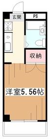 メゾン久米川3階Fの間取り画像