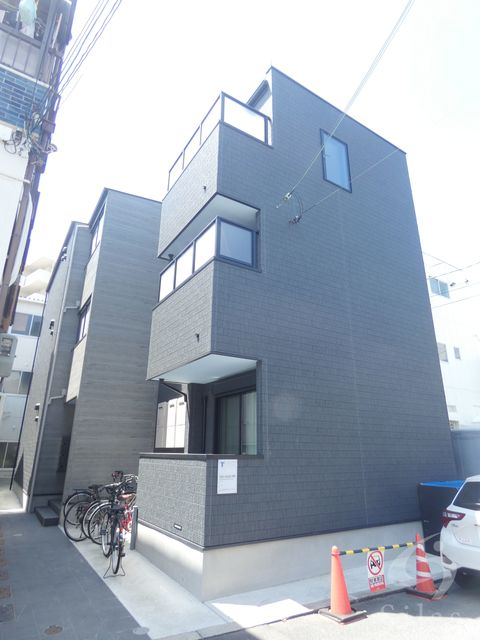 大阪市平野区平野馬場2丁目の賃貸アパートの外観