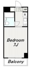TIKビル8階Fの間取り画像