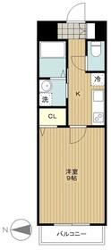 桜ヶ丘駅 徒歩2分2階Fの間取り画像