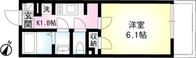 コンフォート桜木03階Fの間取り画像