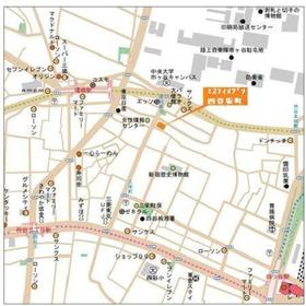 エスティメゾン四谷坂町案内図
