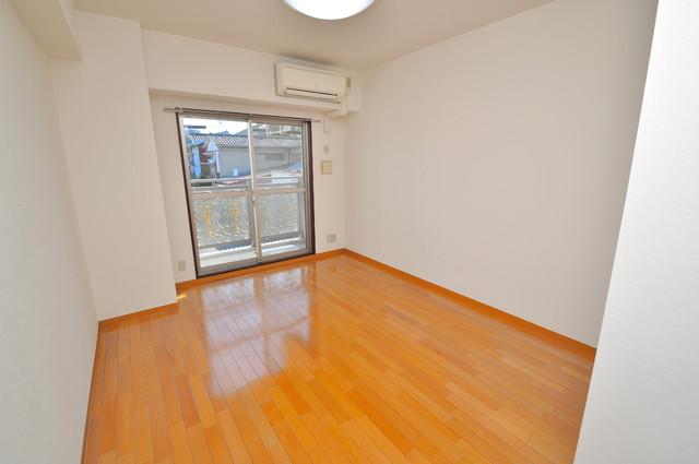 シャトー雅 明るいお部屋はゆったりとしていて、心地よい空間です