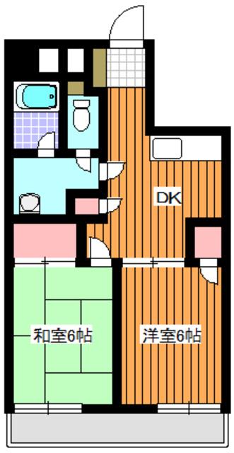 ピュアロイヤル間取図