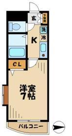 プロミネンス2階Fの間取り画像