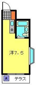 エスケイハイツ3階Fの間取り画像