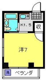 パークマンション2階Fの間取り画像