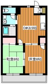 和光市駅 徒歩3分2階Fの間取り画像