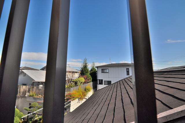 トマトハイツ菱屋西 バルコニーは眺めが良く、風通しも良い。癒される空間ですね。