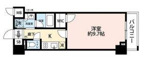 フェニックス新横濱クアトロ8階Fの間取り画像