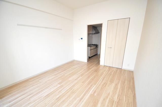 スタシオン俊徳道 シンプルな単身さん向きのマンションです。