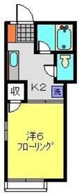 ブリリアント南太田1階Fの間取り画像