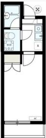 BELLAVISTA川崎Ⅲ2階Fの間取り画像