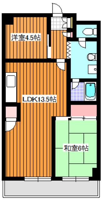 成増駅 徒歩12分間取図