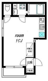 アーバンステージ神田1階Fの間取り画像