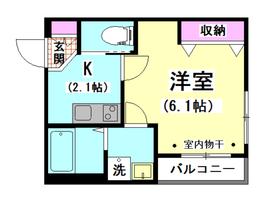メゾンハラダ 302号室