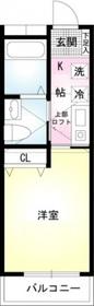 ヴェラハイツ白楽1階Fの間取り画像