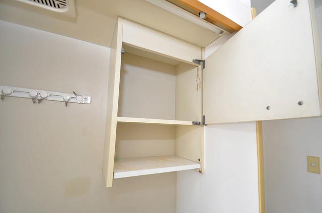 スカイプラザⅢ キッチン棚も付いていて食器収納も困りませんね。