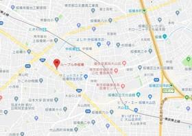 板橋区役所前駅 徒歩21分案内図