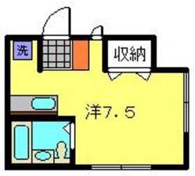 CASA白楽1階Fの間取り画像