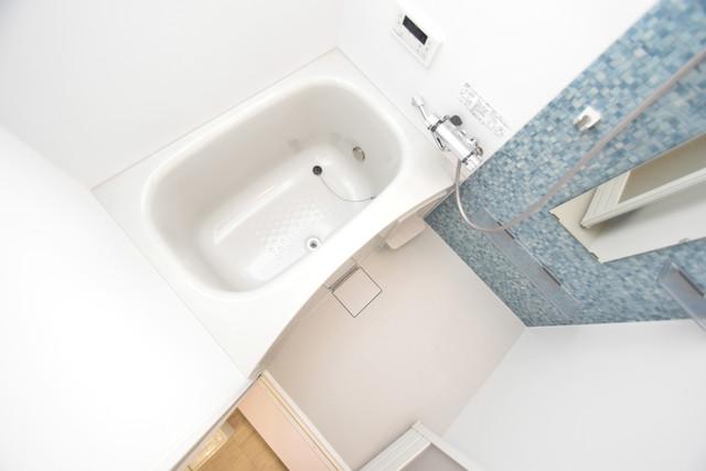 ラモーナ巽南 広めのお風呂は一日の疲れを癒してくれます。