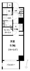 アトラス江戸川アパートメント8階Fの間取り画像