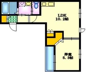 Casa Familie3階Fの間取り画像