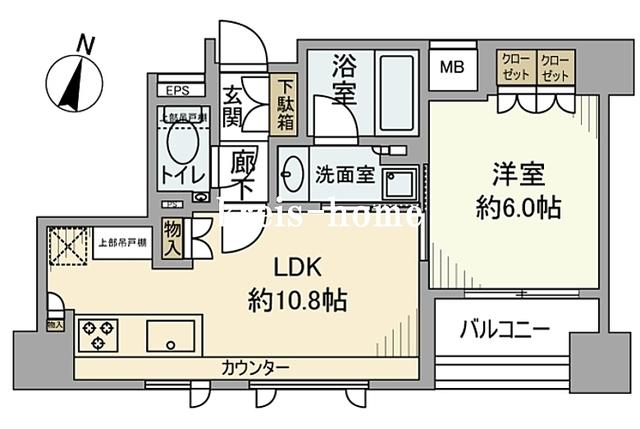 GREEN PARK千代田淡路町間取図