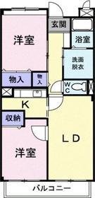 プランドール3階Fの間取り画像