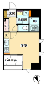 LA CASA OMORI 1101号室
