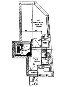 KTA熊野前2階Fの間取り画像