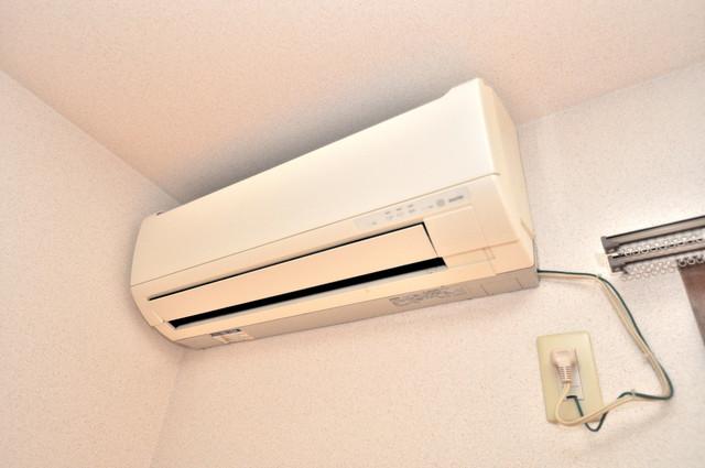 エスティームⅠ番館 最初からエアコンが付いているなんてお得ですね