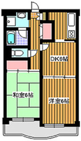 西高島平駅 徒歩20分2階Fの間取り画像
