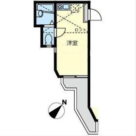 ユナイト生麦アルフレッドの杜1階Fの間取り画像