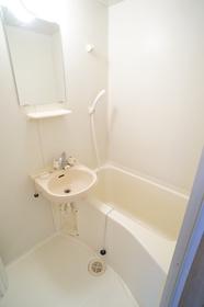 洗面台付バスルーム