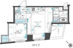 フェニックス新横濱クアトロ10階Fの間取り画像