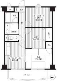 TOMIKURA-Ⅲ3階Fの間取り画像