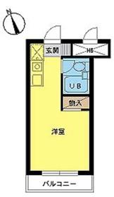 スカイコート新宿第63階Fの間取り画像