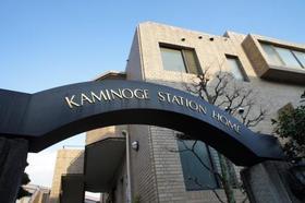 上野毛ステーションホーム外観