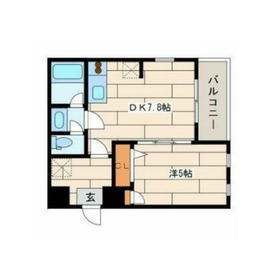 アートヒルズ横浜B棟1階Fの間取り画像