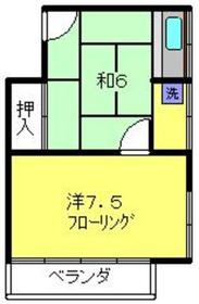 戸部駅 徒歩7分2階Fの間取り画像