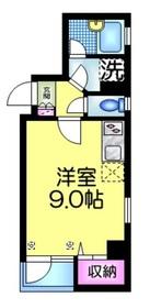 フォンテーヌ日本橋3階Fの間取り画像