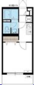 リブリ・ハナノミ2階Fの間取り画像